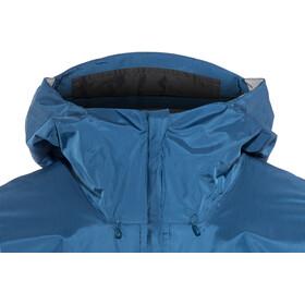 Patagonia M's Torrentshell Jacket Big Sur Blue w/Fire Red